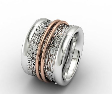 Bohemme, Bohemmia Ring,18K Rose Gold, Sterling