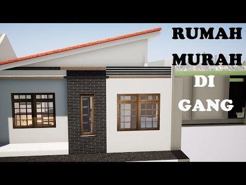 INSPIRASI Desain Rumah Minimalis Desain Rumah Murah Rumah Milenial Rumah 5x8  - YouTube   Rumah Minimalis, Rumah, Desain Rumah