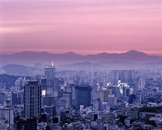 Predawn from Namsan by Thomas Birke