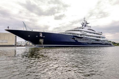 Lurssen Has Launched The 111m Superyacht Tis Lurssen Yachts