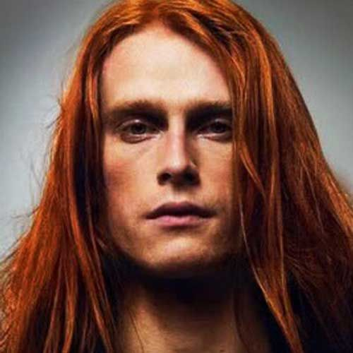 Straight Red Long Hairstyles For Men Hairstyles Straight Long Hair Styles Men Long Hair Styles Mens Hairstyles