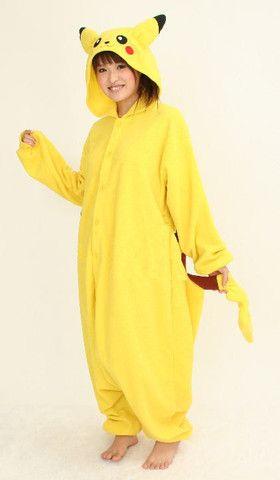 Pikachu kigurumi onesie at Kawaii-kigu.com | Kawaii Kigu | Kigurumi Animal Pajama Onesies