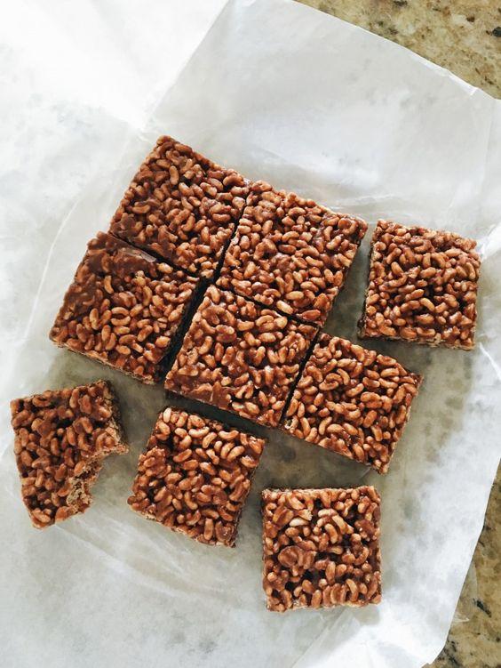 Chocolate Peanut Butter Rice Krispies