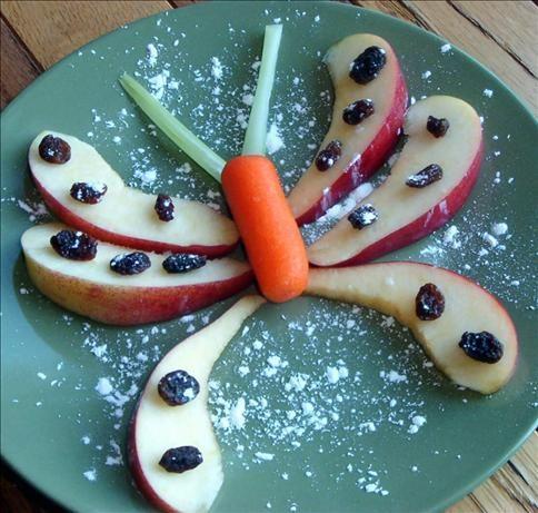 Apple Butterflies #Healthy #EarthDay Snack
