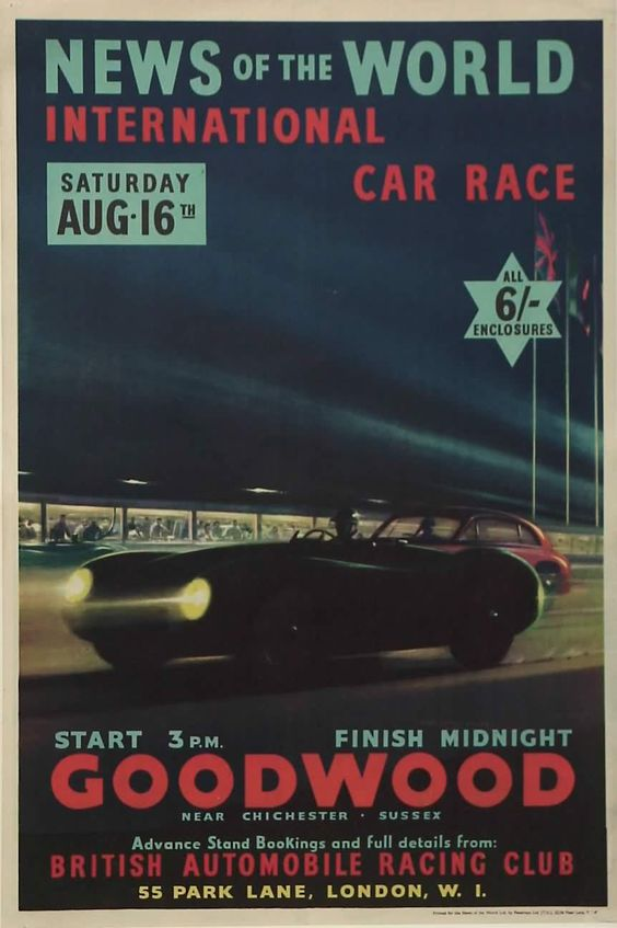 The 1952 Goodwood 9 Hour Race was first held in 1952, Jaguar sent the above illustrated C-Type with other British manufacturers sending their latest...