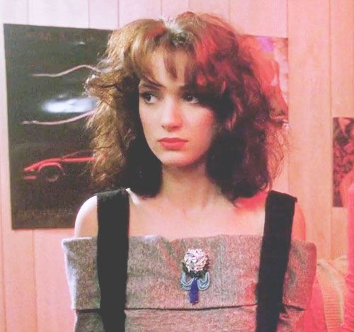 Veronica Sawyer... Hair and clothes crush! <3