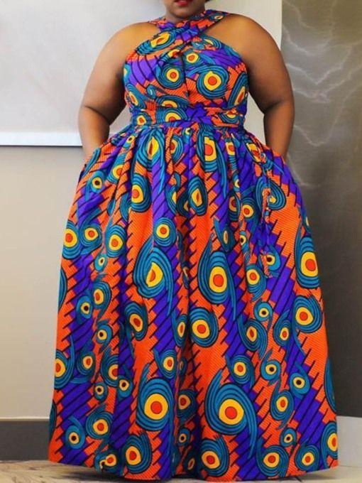 29++ Plus size african print maxi dress ideas