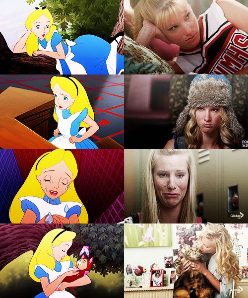 Think your favorite Glee star looks like a Disney princess? Sleeping Beauty and Britney S Pierce.