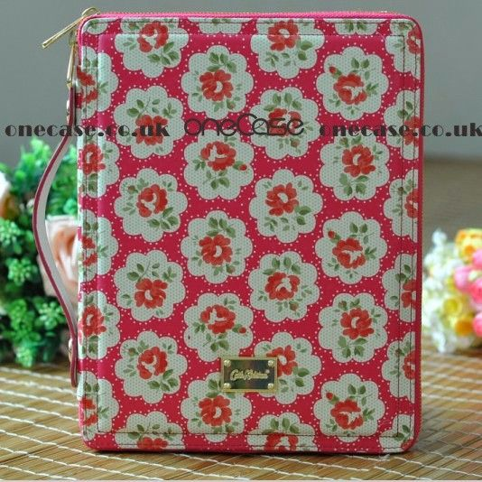 Cath Kidston Zip Case with stand for ipad 2 ipad 3 Flower Pink