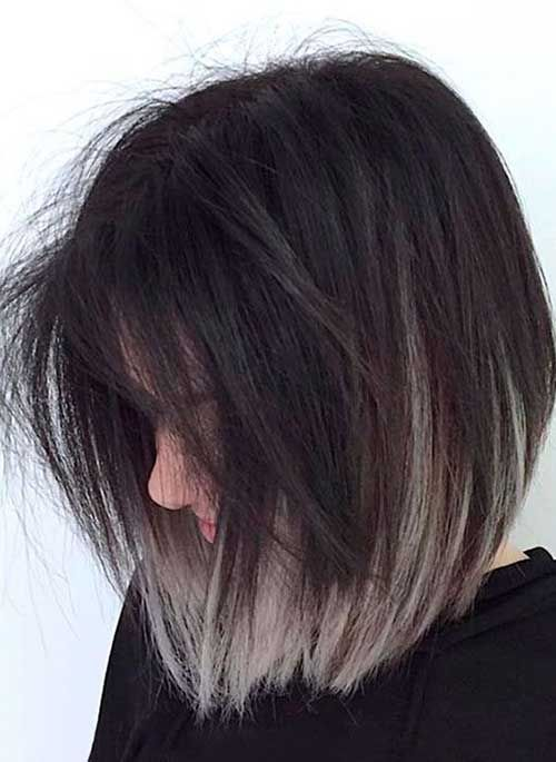 Colors For Short Hair Lilostyle Hair Styles Grey Ombre Hair Short Ombre Hair