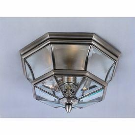 LightingShowroom.com: Newbury Pewter Outdoor Flush Mount, $160.00