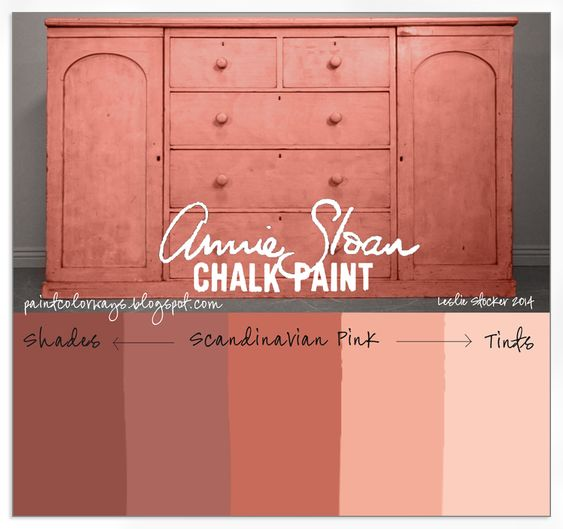 Colorways Shades And Tints Of Annie Sloan Chalk Paint