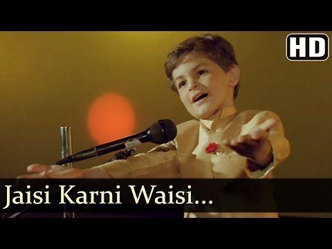 Jaisi Karni Waisi Bharni Title Song Neil Nitin Mukesh Nitin Mukesh Rajesh Roshan Hindi Song Youtube Neil Nitin Mukesh Songs Hindi