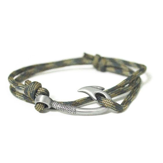 fishing hook Bracelet Camo