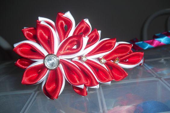 Vermelha com branco