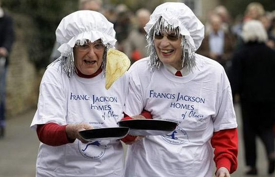 Pancake Races-Created by a Woman
