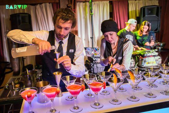 выездной коктейль бар в Москве и области