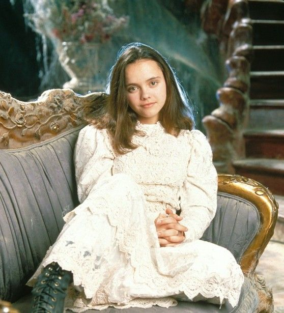 I kind of want to be Christina Ricci in Casper for Halloween too. Maybe if I had someone to be Casper lol