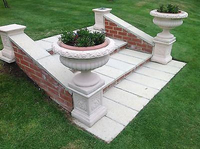 Pair of #garden urns victorian #style  #garden ornament #planters and pots,  View more on the LINK: http://www.zeppy.io/product/gb/2/361503099187/