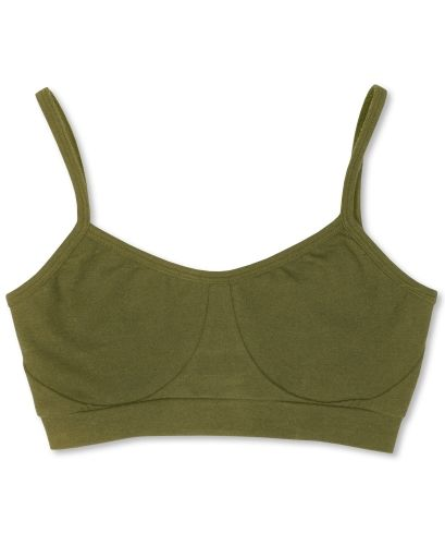Organic Bralette in olive - comes in many other colors too!!