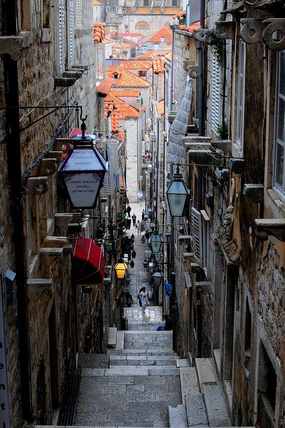 Wander the streets of Dubrovnik, Croatia.