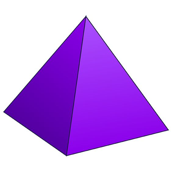 Pyramid - 3D Shape - Geometry - Nets of Solids ...