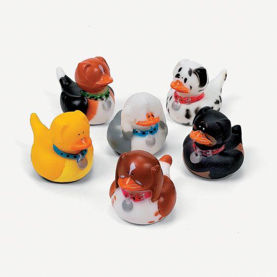 Dog Rubber Duckies - OrientalTrading.com