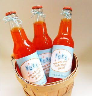 Retro Printable Soda Pop Labels (for Pop. Ha.) #printable #free #diy