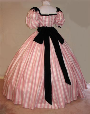 One of my favorite Southern Belle Dresses worn by Terri Garber in the tv miniseries: North & South!!!! (Back View)