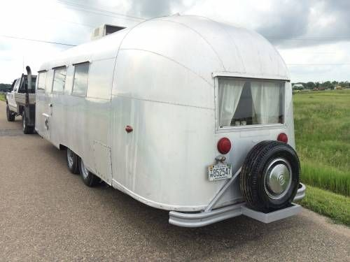 1960 Vintage Airstream Overlander with twin axle