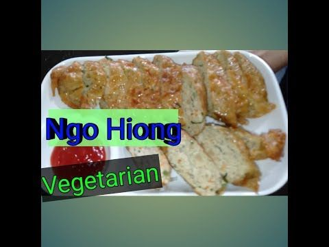 Resep Ngohiong Vegetarian Youtube Memasak Vegetarian Resep