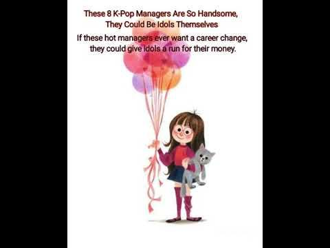 These 8 K Pop Managers Are So Handsome They Could Be Idols Themselves If These Hot Managers Ever W Youtube Kpop Idol Pop