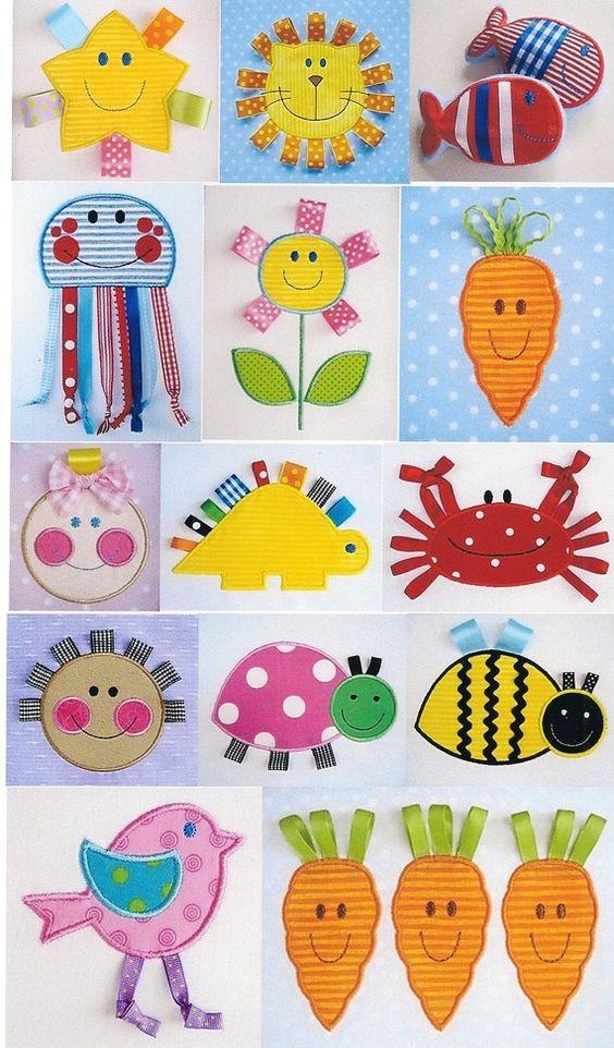 Stickerei-Design-Set für Machine Embroidery - glückliches Gesicht mit Multifunktionsleiste Applique - elf Modelle 4 x 4 und 5 x 7