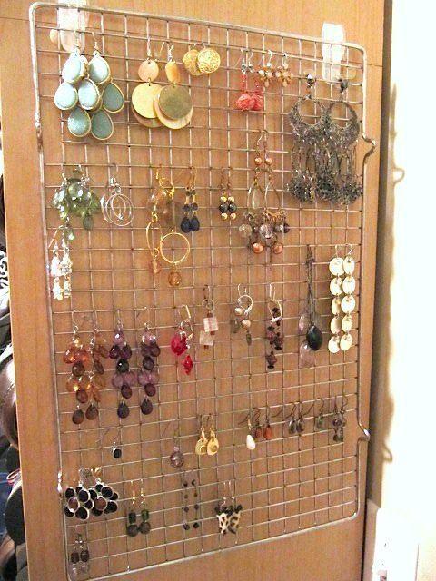 9 Genius Ideas For Dollar Store Cooling Racks Closet Crafts