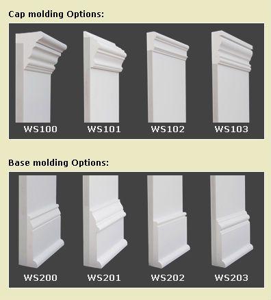 Types Of Baseboard Molding Base Moulding Ideas Living