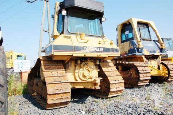 Planierraupe Kettendozer CAT D6M XL Baumaschine Bagger Caterpillar Heavy Equipment  https://twitter.com/itogermany