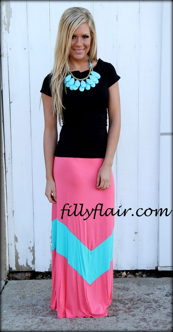 ORDERED - (http://www.fillyflair.com/chevron-maxi-skirt-in-pink-and-aqua/)