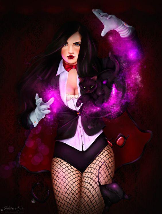 Zatanna Concept Fan Art by Gigi-Avila