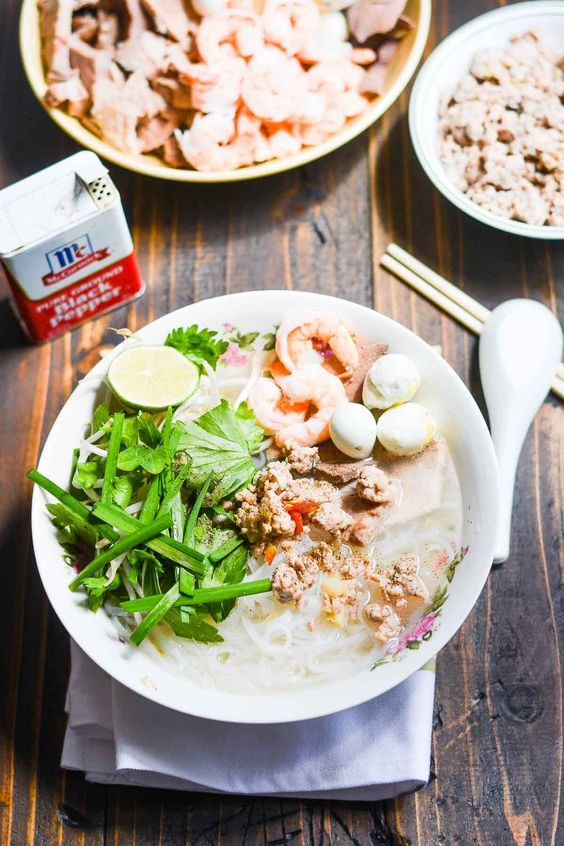 Phnom Penh Noodle Soup (Hu Tieu Nam Vang)