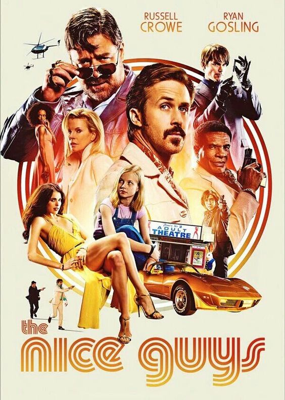 The Nice Guys, official poster
