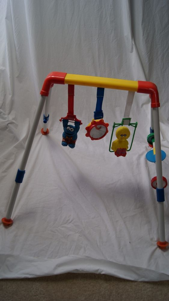 Vintage Tyco 1993 Baby Play Gym Floor Area Mobile Sesame