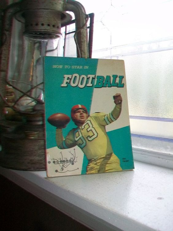 How To Star In Football Vintage 1966 Book