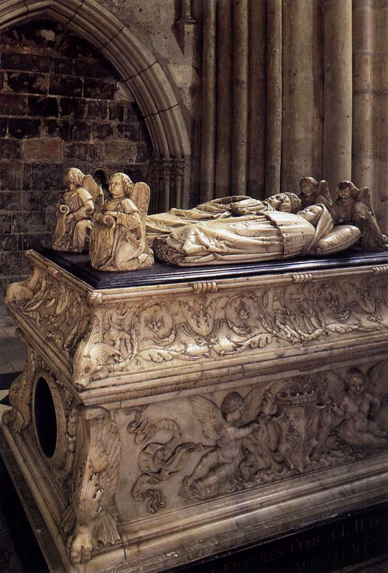Michel Colombe - Tomb of the Children of Charles VIII (1506) - Cathedral, Tours