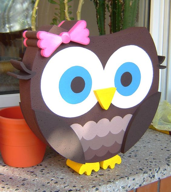 Ideas For Decorating Valentine Box: Owl Decorations, Owl And Decoration On Pinterest