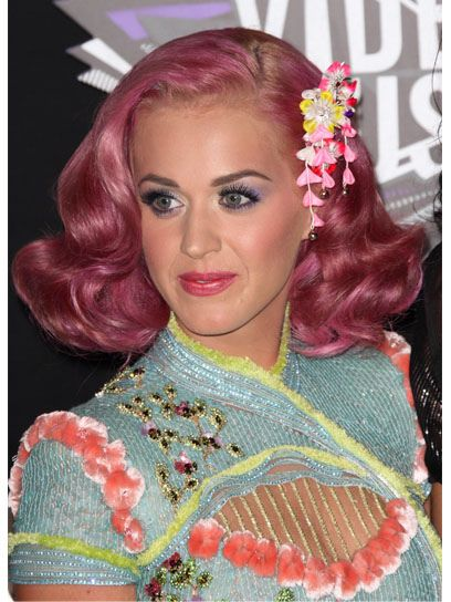 Katy Perry put a new twist on a classic look!