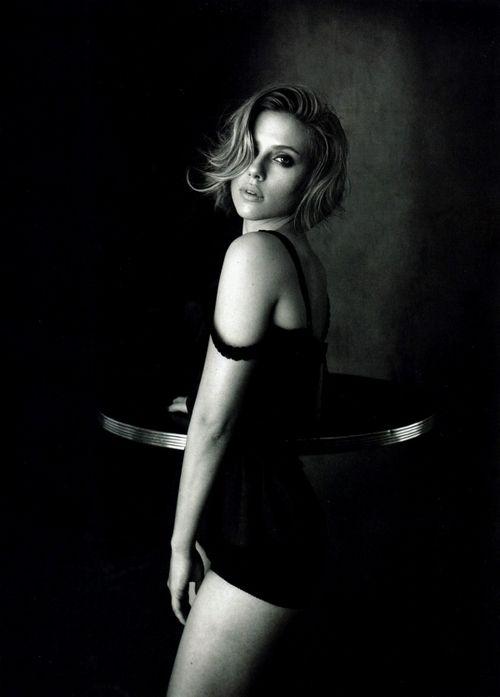 Scarlett Johansson bt Peter Lindbergh