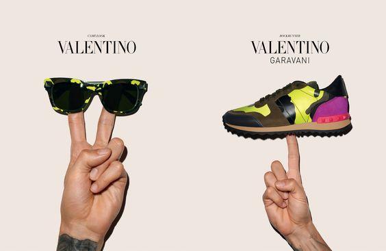 "VALENTINO'S GRUNGY ""CAMUROCK"" CAMPAIGN http://wp.me/p3KQGr-Uo  #bag, #Resort 2014, #Rockstud, #Terry Richardon, #Valentino, #Camurock, #accessories"