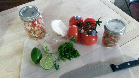 Pico de gallo -this was so easy to make I may never buy this again!!!