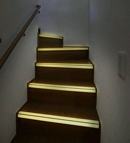 1 Meter 25mm Breite Nachtleuchtend Antirutsch Band für Treppen und Stufen