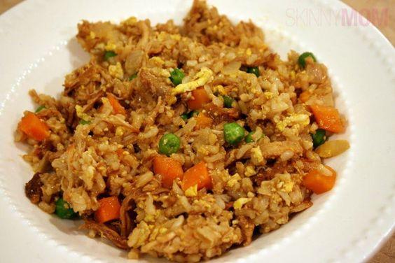 Skinny Chicken Fried Rice recipe 2C=10 WWP+